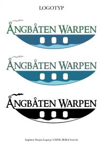 """Logotyp """"Ångbåten Warpen"""""""